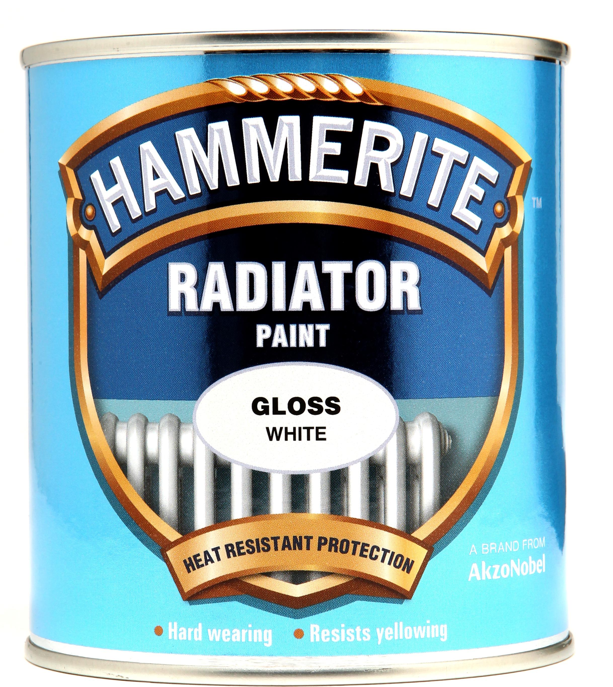 Hammerite White Gloss Metal Paint