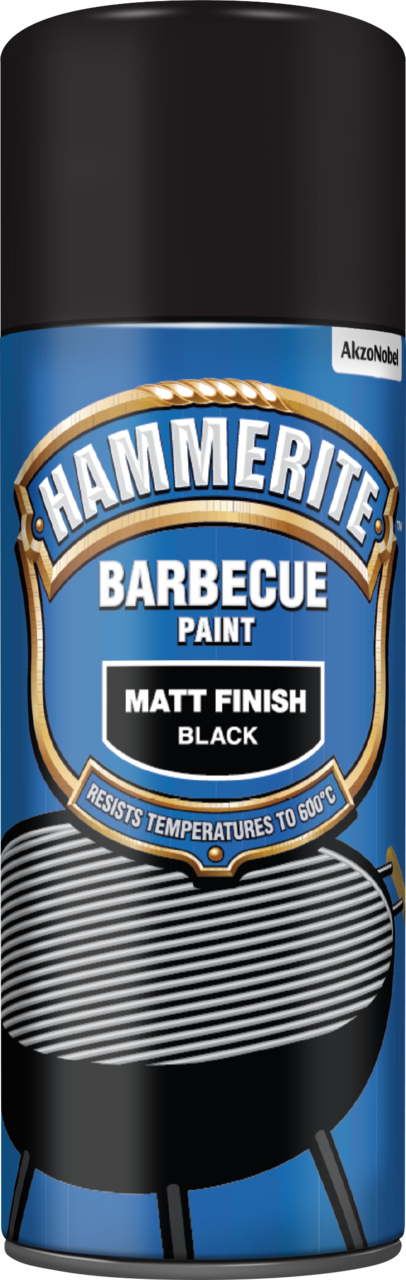 barbecue paint aerosol protect your metal hammerite. Black Bedroom Furniture Sets. Home Design Ideas